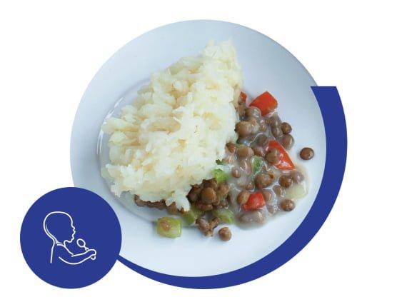 Tercer paso Alimentos para comer con las manos: alimentación adulta